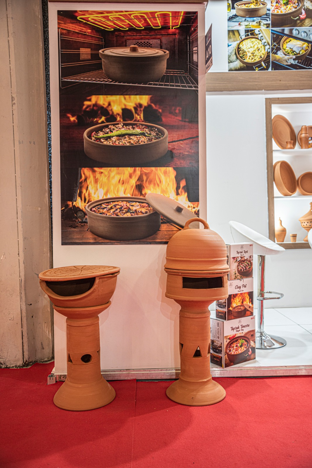 Earthenware Barbeque Set
