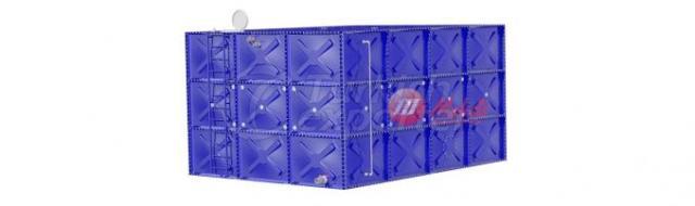 Horizontal Large Prismatic Modular Water Tanks