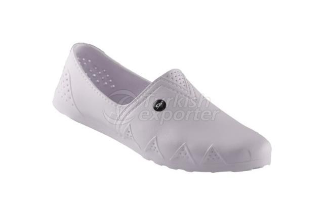 Mulheres Verão Inverno PVC Sapatos