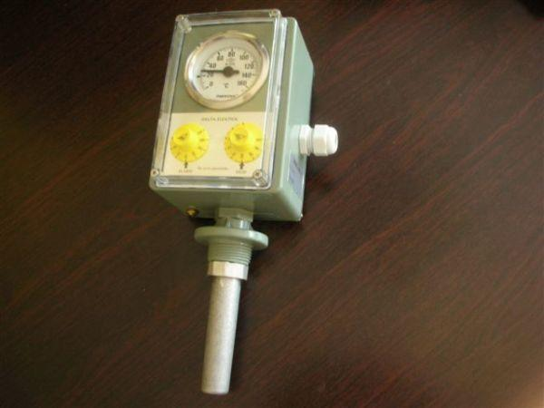 Термометр двухконтактный DTS-12
