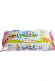 Wet Wipes ( 72 Pcs )