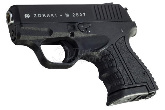 ZORAKI M2807 KURUSIKI TABANCA, SIYAH