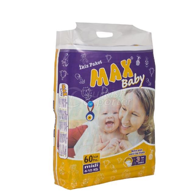 Baby Diapers Midi 60 pcs