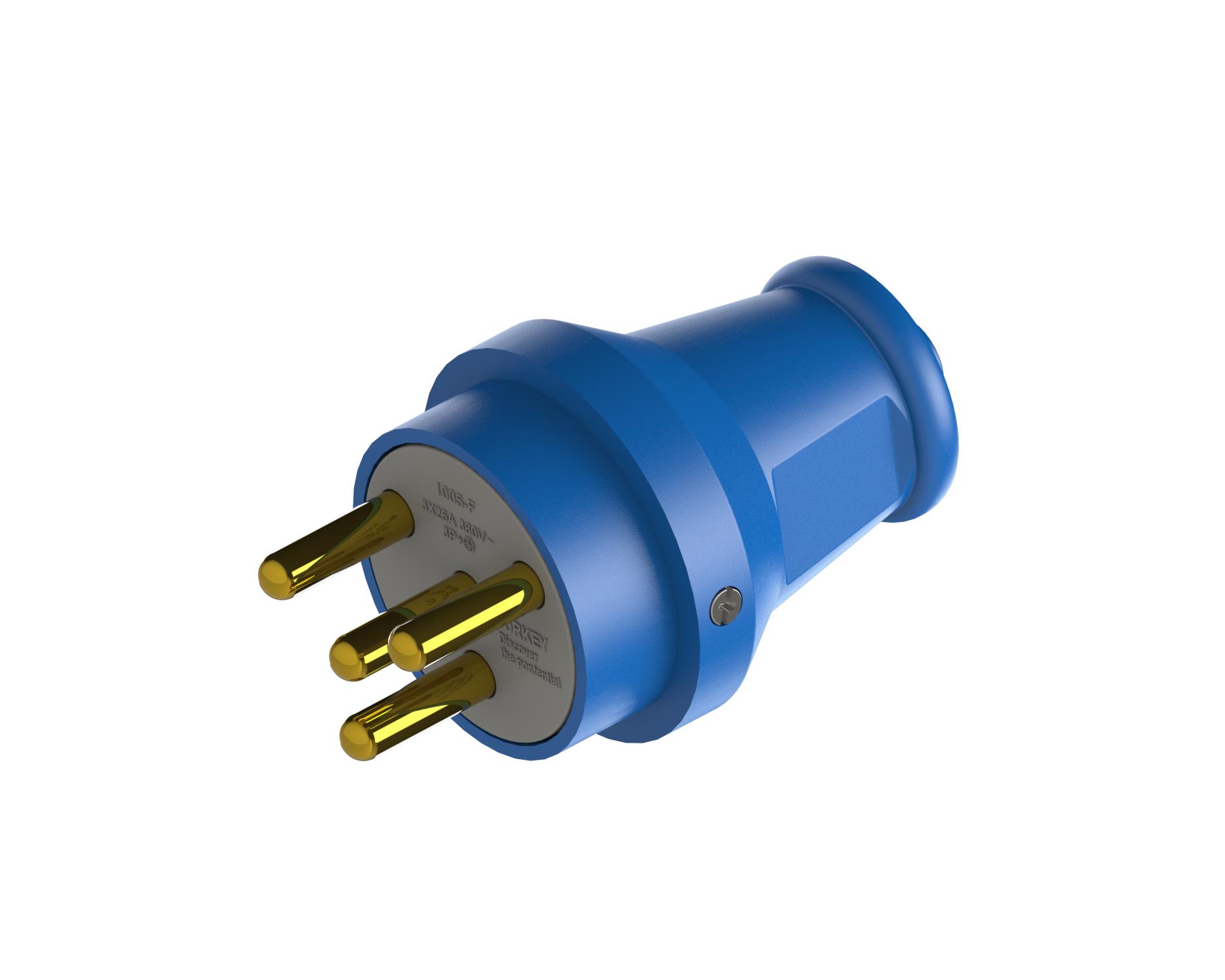 3*25 A Three Phase Plug / 1005-F