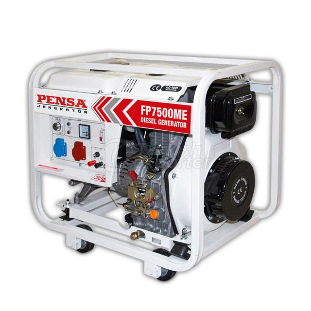pensa diesel generator starter