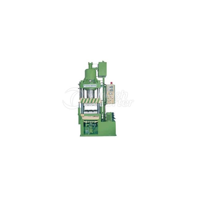 Rubber Press with Automatic Degassing and Ejector System
