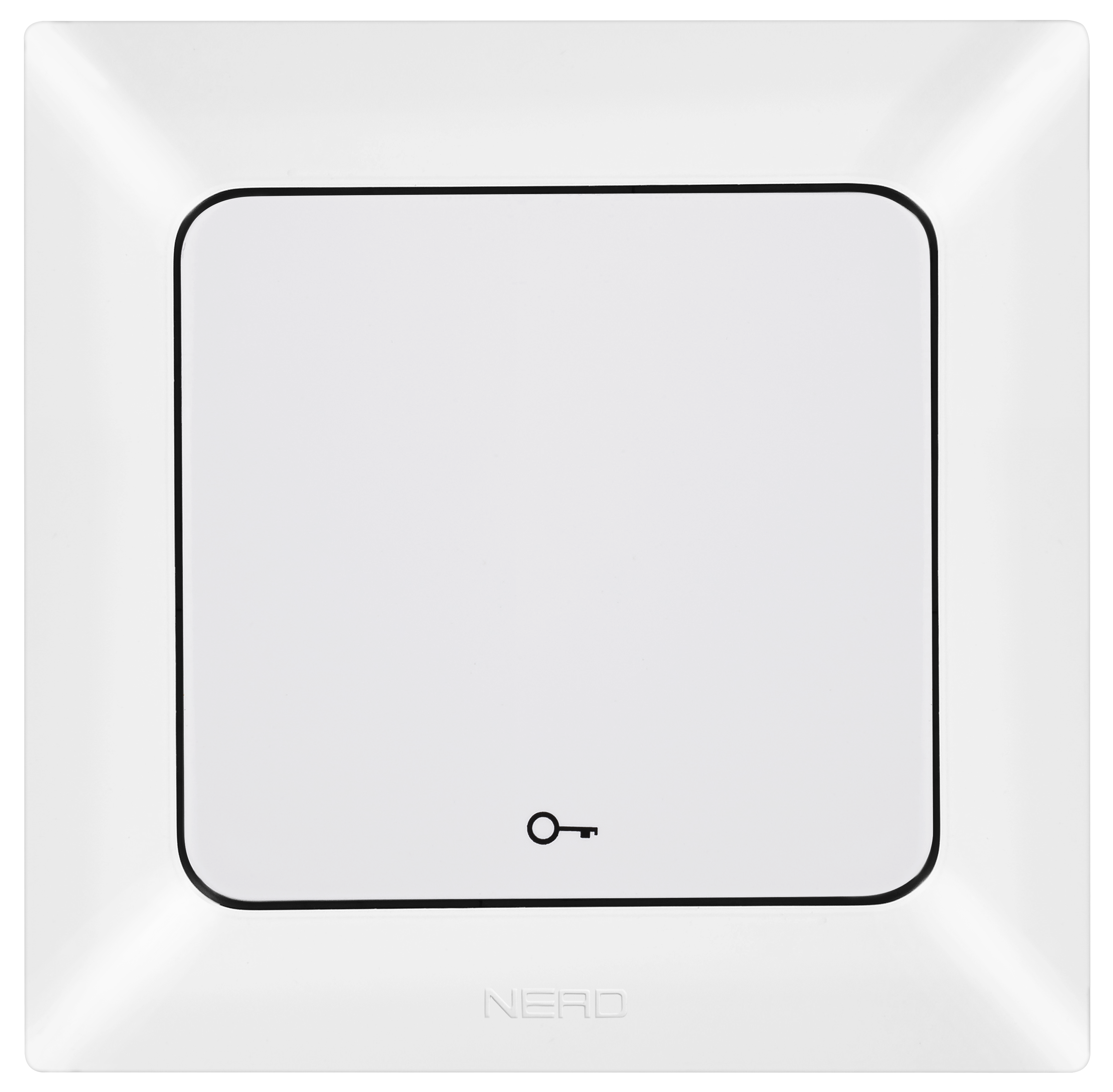 Push Button With Key Symbol / 93-110-13