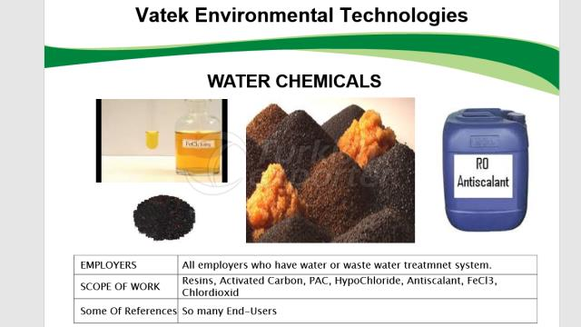Water Chemicals , Minerals