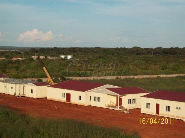 Modular Building Project Bakadou Gabon