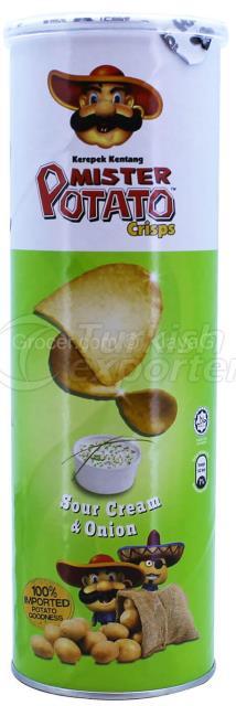"""Mister Potato"" Sour Cream & Onion"