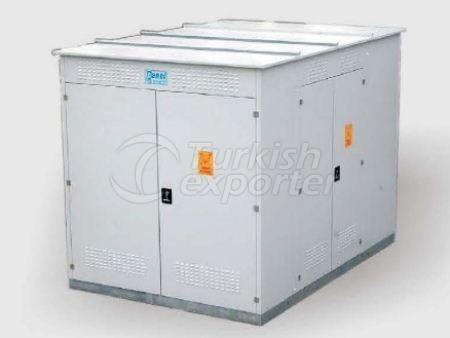 Compact Transformer Cubicle