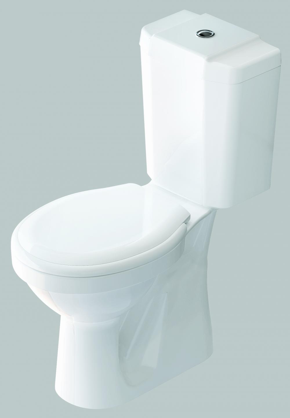 WC PAN + CISTERN