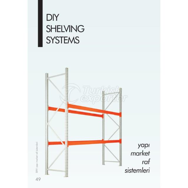 Sistemas de estantería DIY