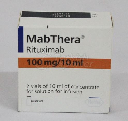 MABTHERA 100 MG 2 VIALS