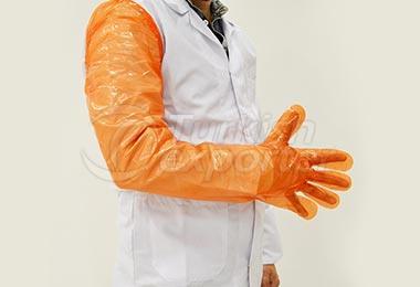 قفازات برتقالية