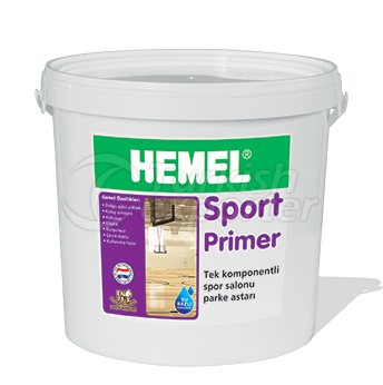 Single -Component Sports Saloon Parquet Primer
