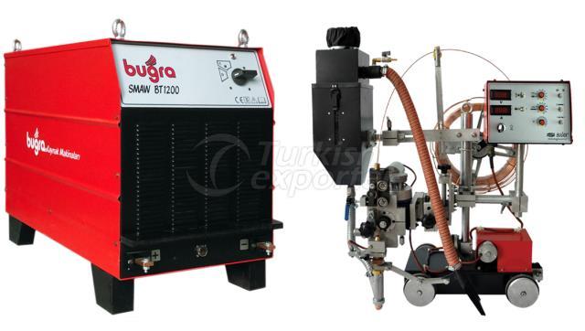 Bugra BT 1200 SMAW & BT 12 Tractor
