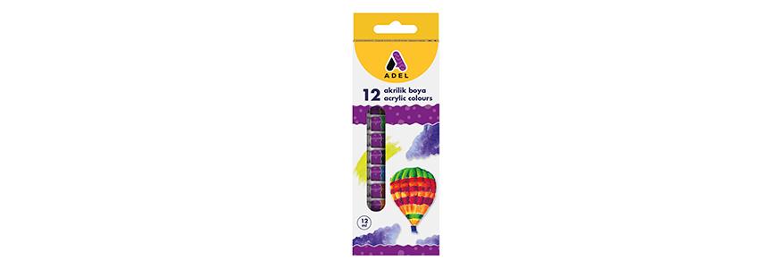 Adel-Acrylic Colors 12 ml