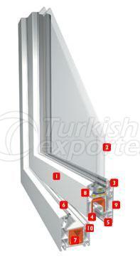Erpen PVC Window Extraline