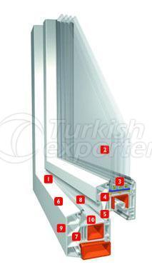 Erpen PVC Window Multiline