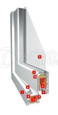 Erpen PVC Window Smartline 4x4