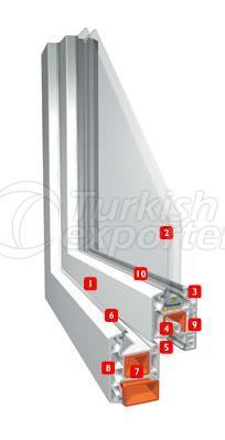 Erpen PVC Window Smartline Trend
