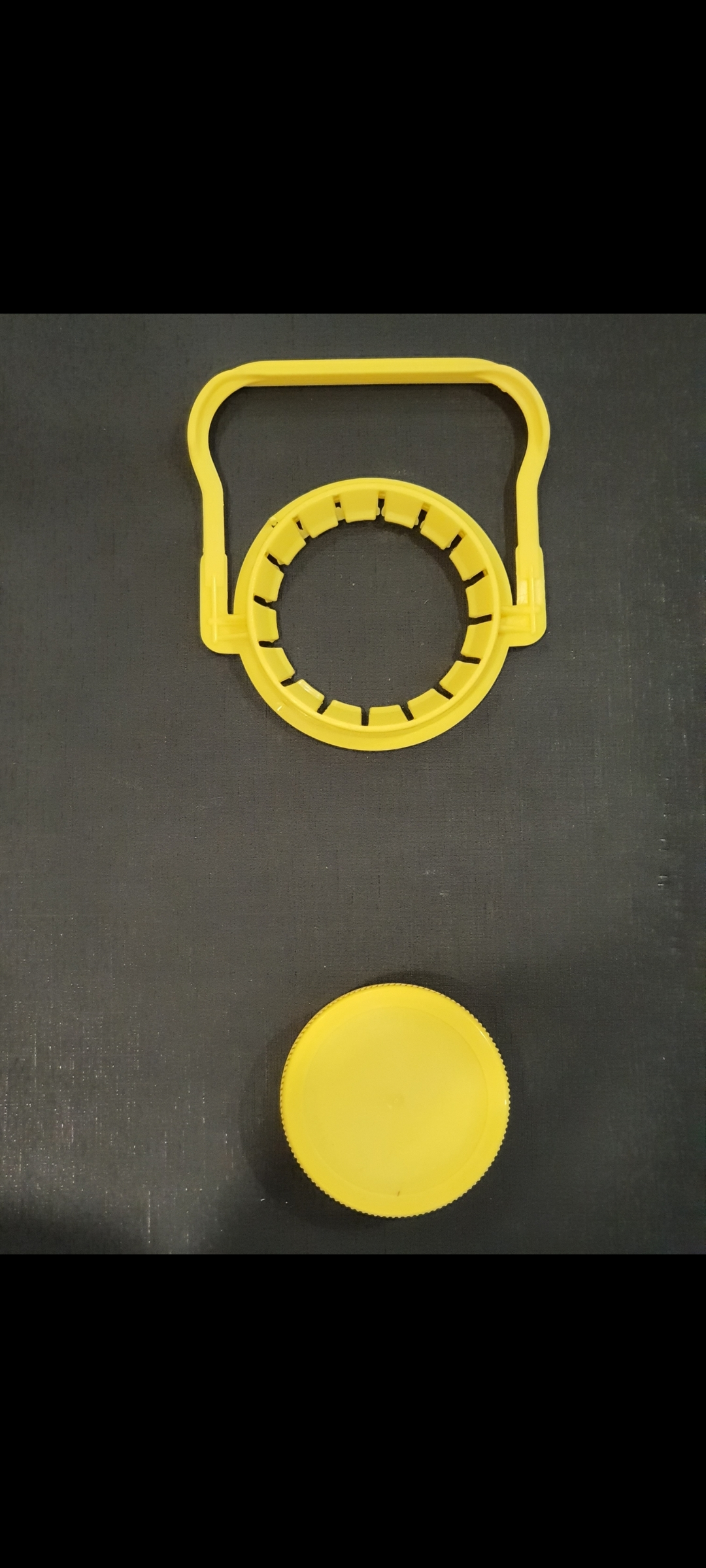 48mm plastic cap for pet bottles and handles