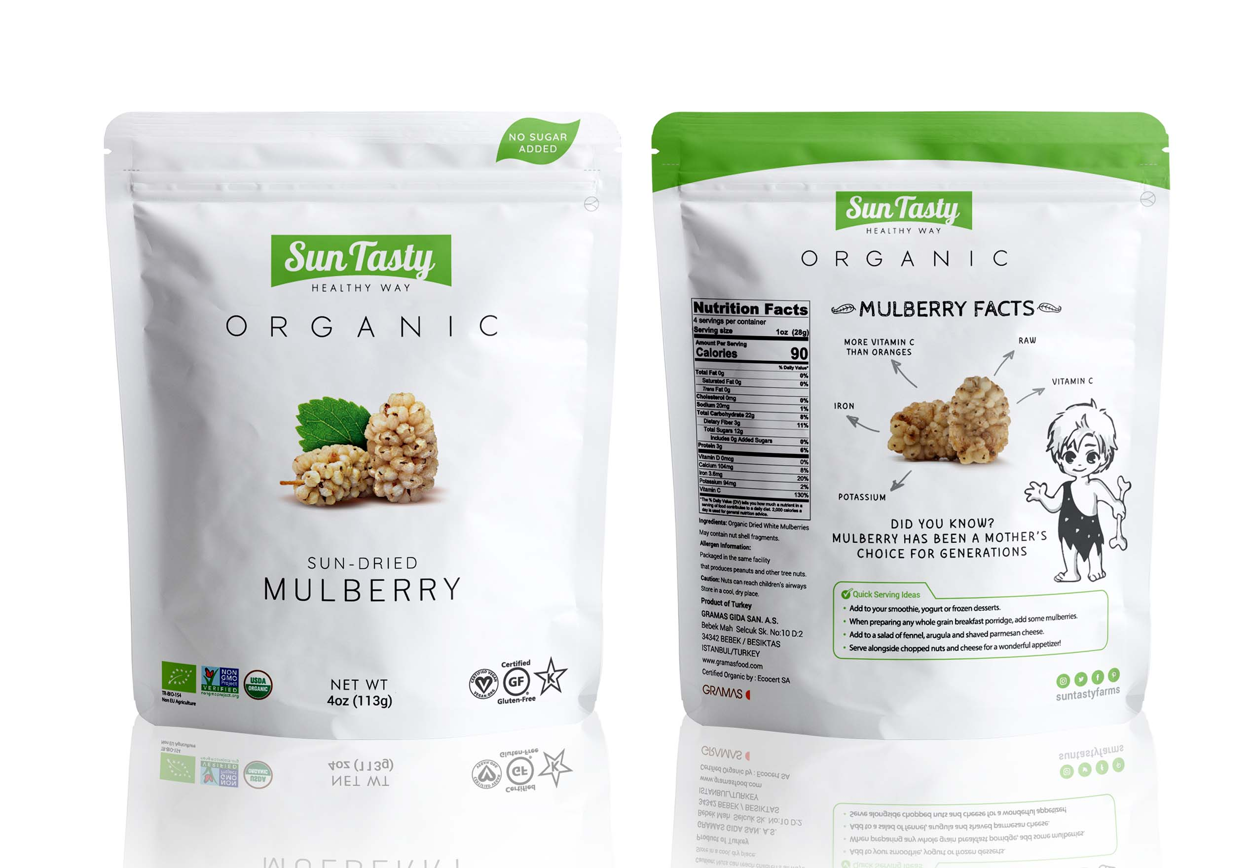 SunTasty Organic Mulberry