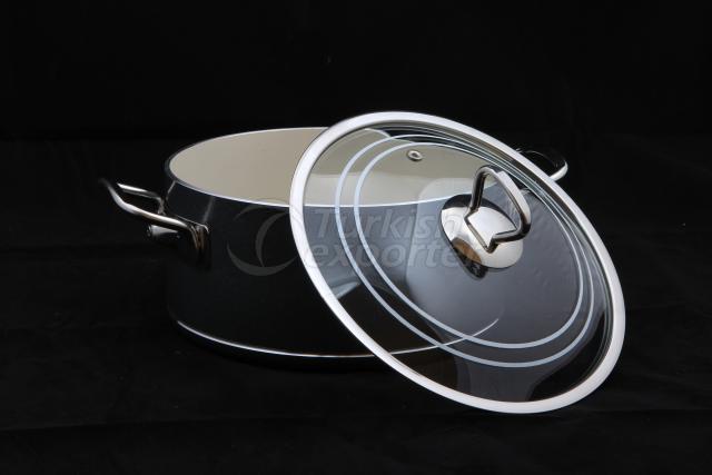 Ceramic Deep Cooking Pot
