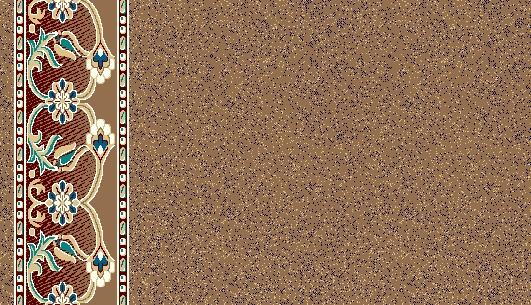 Mosque Carpet S0406F