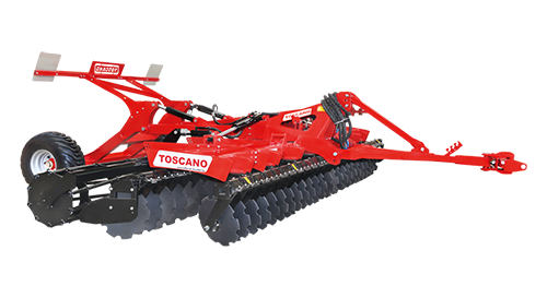 FOLDING TYPE DISC HARROW