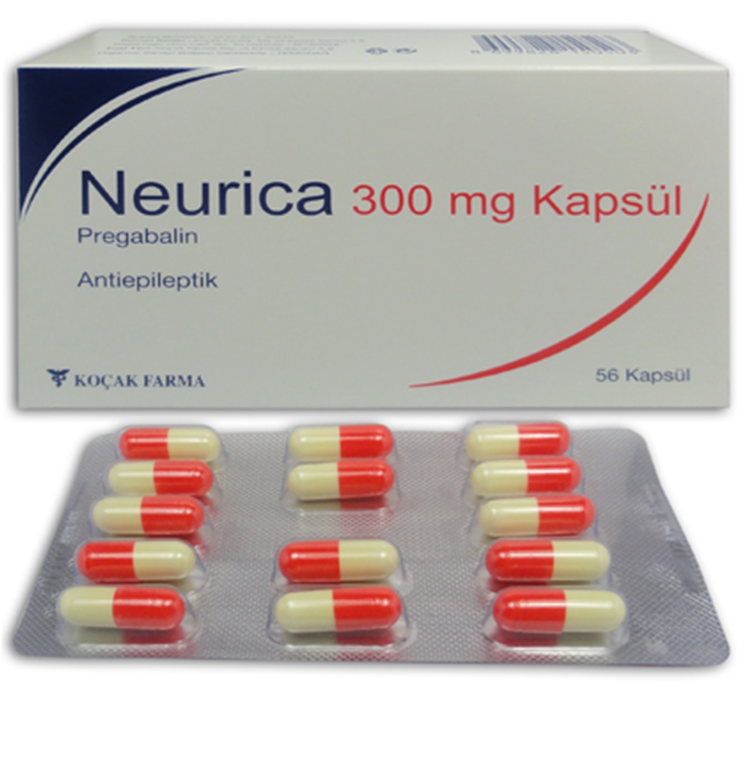NEURICA 300 MG 56 CAPSULE