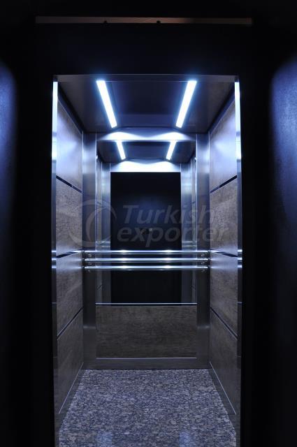 Yukselis Elevator Cabin - Tuval
