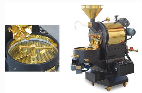 Industrial coffee roasters