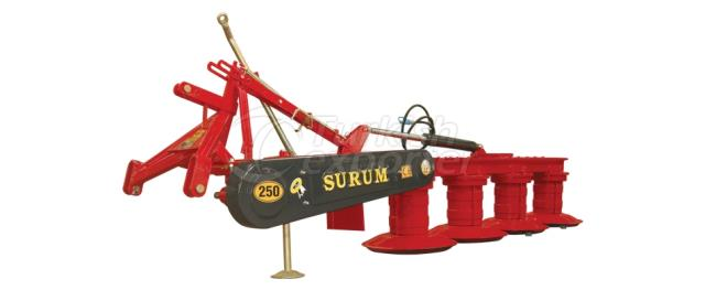 SM 250 LIFTLI - ROTARY DRUM MOWER