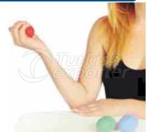 силиконовые стресс мяч