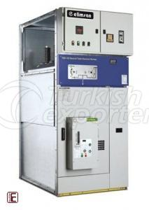 Input-Output Cell with SF6 Gas Circuit Breaker