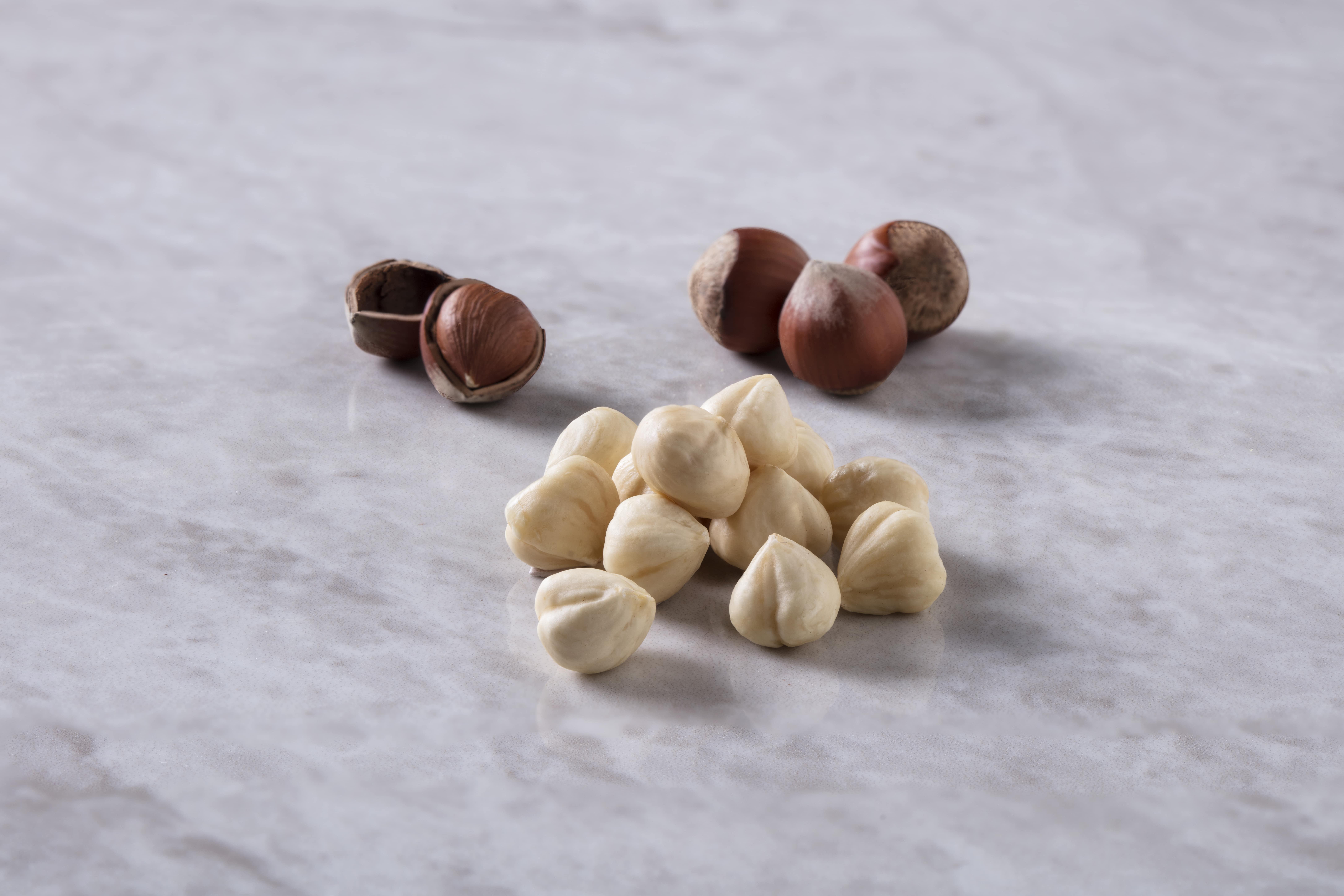 Жареное ядро лесного ореха