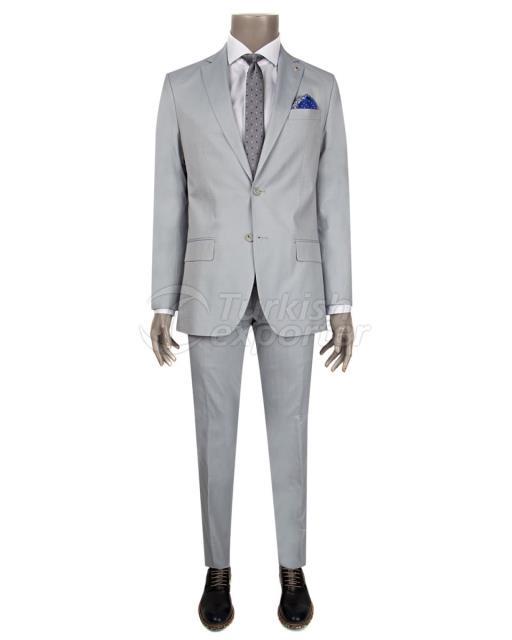 Slim Fit Blue Suit