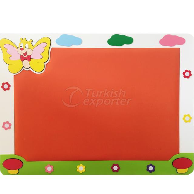 Butterfly Showboard -100*135 cm VR-9505