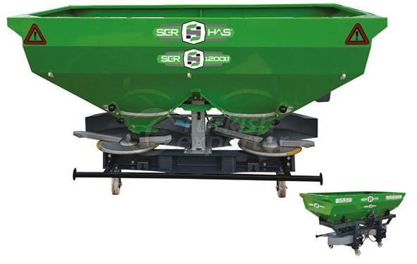 Square Manure Spreading Machine 1200 Liters capacity