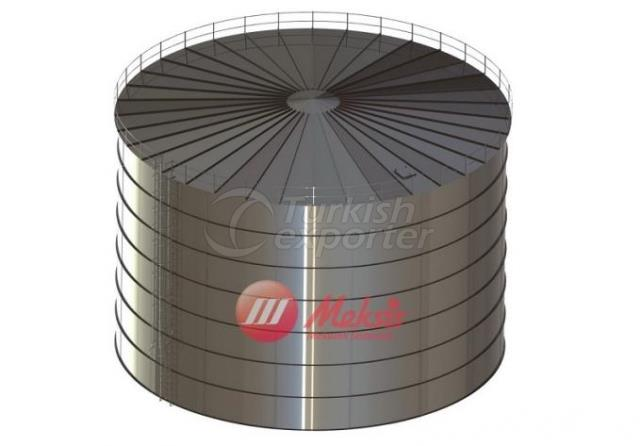 Multi-Row Cylindrical Water Tank