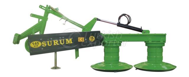 SM 145 LIFTLI - ROTARY DRUM MOWER