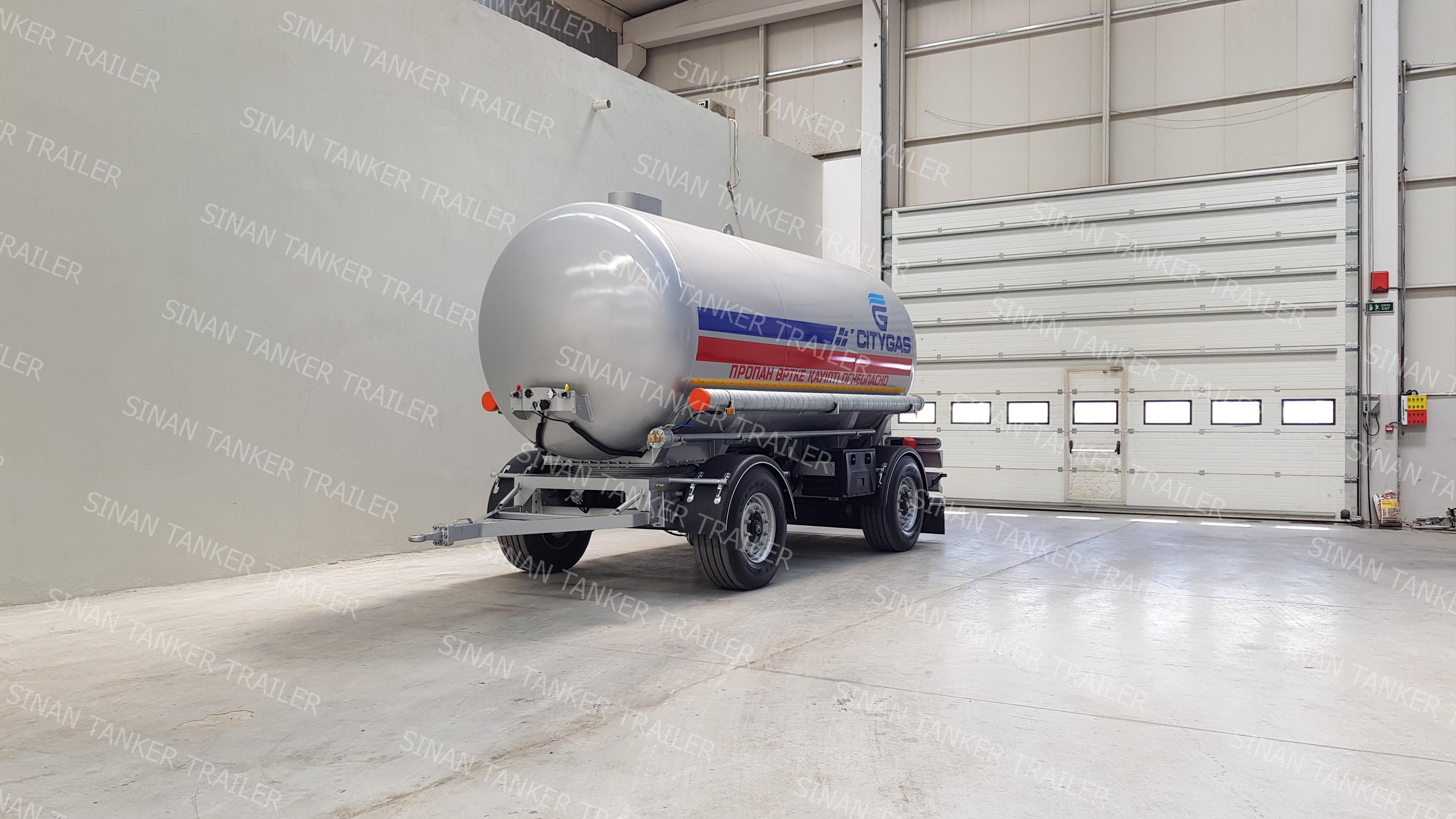 LPG Tanker Trailers