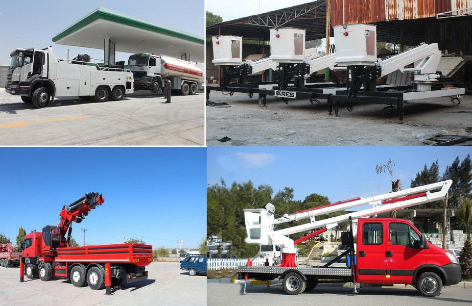 Tow Truck - Crane - Platform