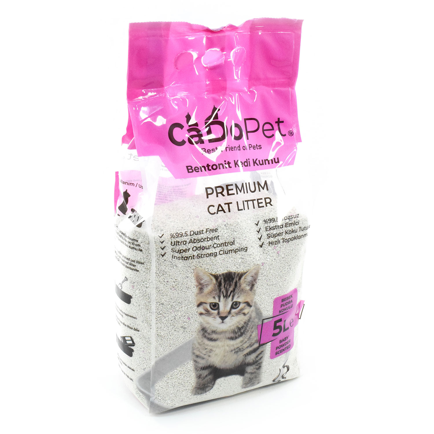 Cat Litter With Baby Powder