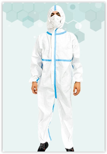 Coverall with Tape
