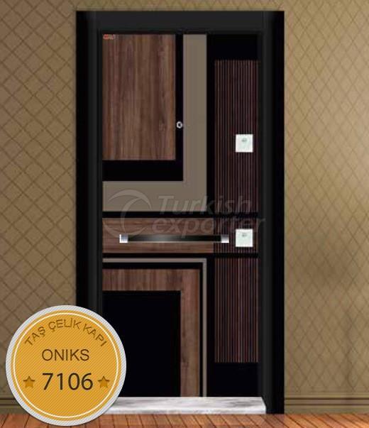 Çelik Kapı - Oniks 7106
