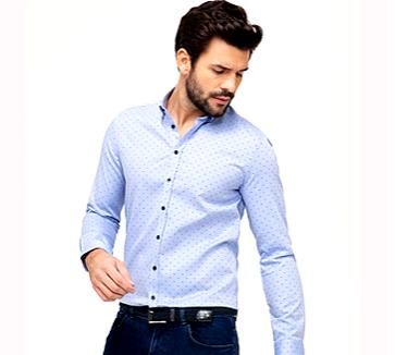 Men Shirt - Dot
