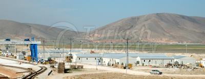 Pre-Engineered Camp Site Buildings / Prefabrik Kamp Yapilari